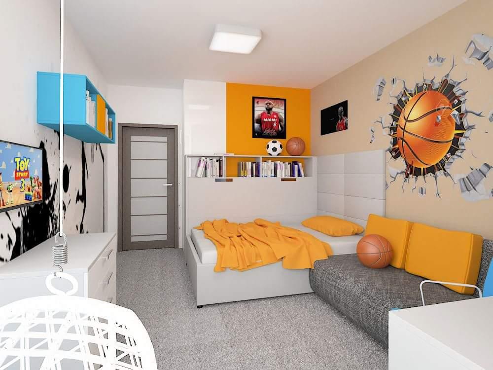 Dětské pokoje Zuzana Gajdůšková Designer